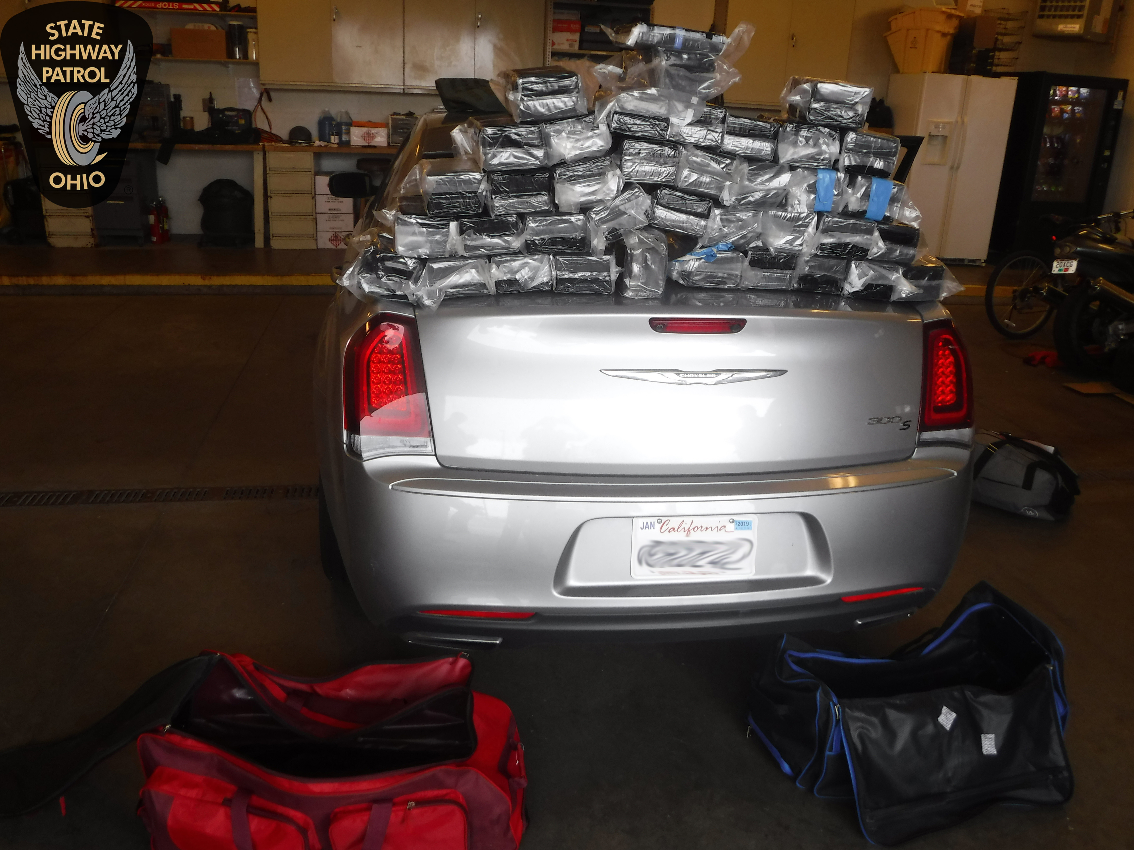 Troopers seize $6.3 million worth of cocaine in Wood County
