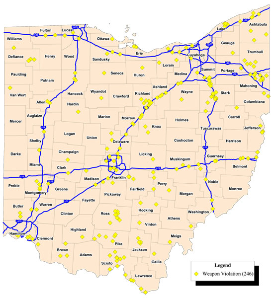 Ohio Highway Map My Blog - Ohio road map